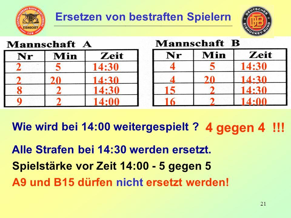 20 7 5 04:50 7 20 04:50 8 2 03:00 14 5 04:50 14 20 04:50 Wie wird bei 3:00 weitergespielt .