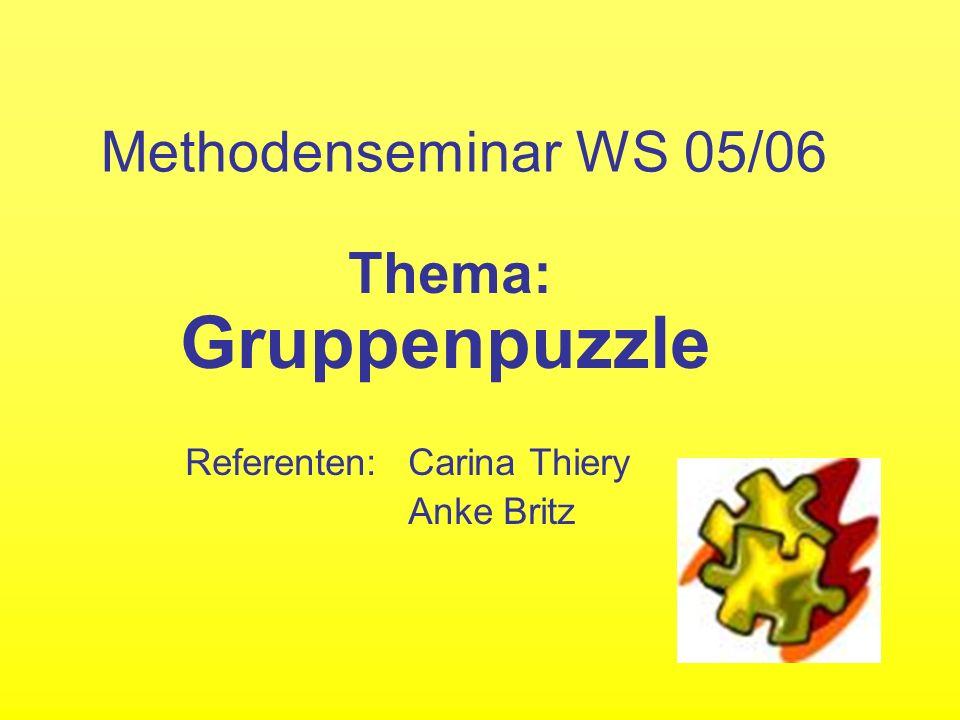 Zusätzliche Informationen www.wikipedia.de www.jigsaw.org www.praxisschule.de www.learn-line.nrw.de www.educeth.ch