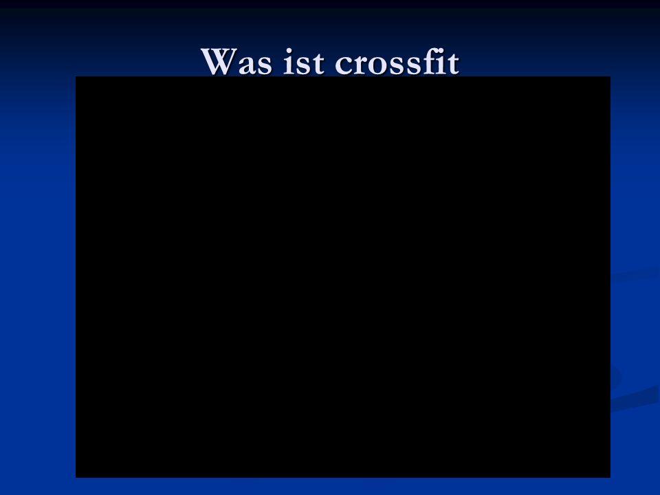 Weitere Videos zu crossfit