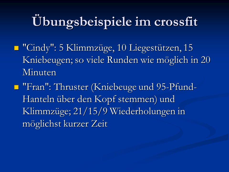 Weitere crossfit übungen MURPH Ein Workout aus der Hero-Serie, benannt nach Lt.