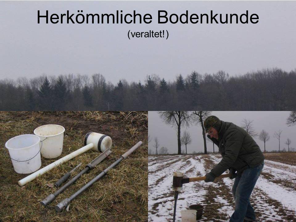 Herkömmliche Bodenkunde (veraltet!)