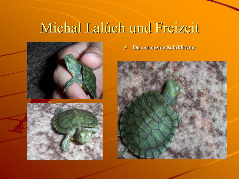 Michal Lalúch und Freizeit Das ist meine Schildkröte: