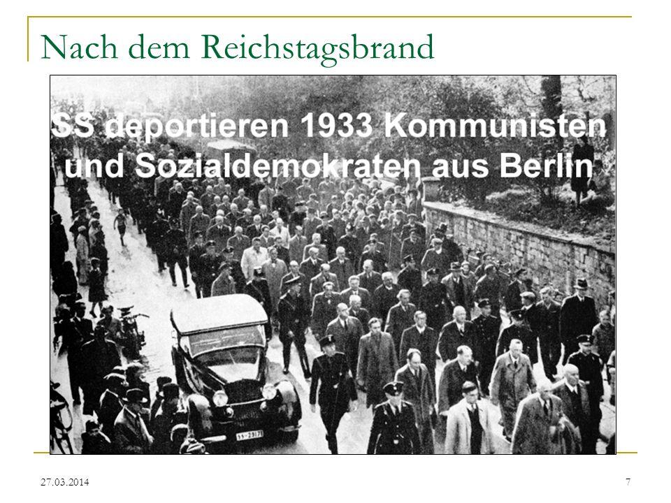 27.03.20148 Gleichgeschaltete Hamburger Bürgerschaft (10. Mai 1933)