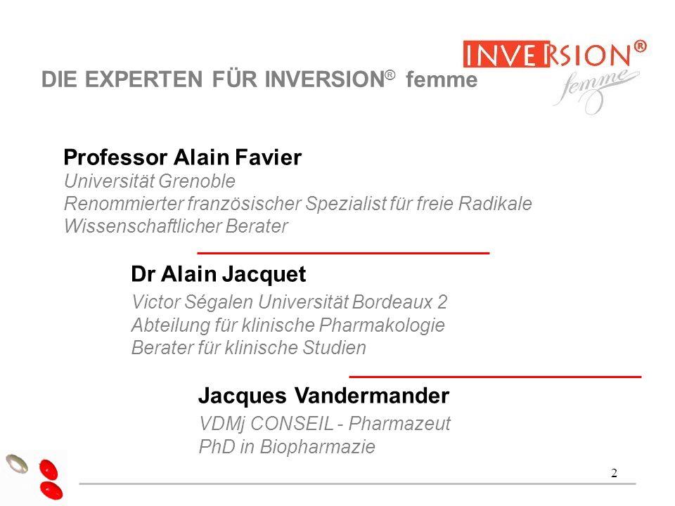 3 Dr Alain Jacquet SIND DIE AUSWIRKUNGEN DER ZEIT REVERSIBEL.