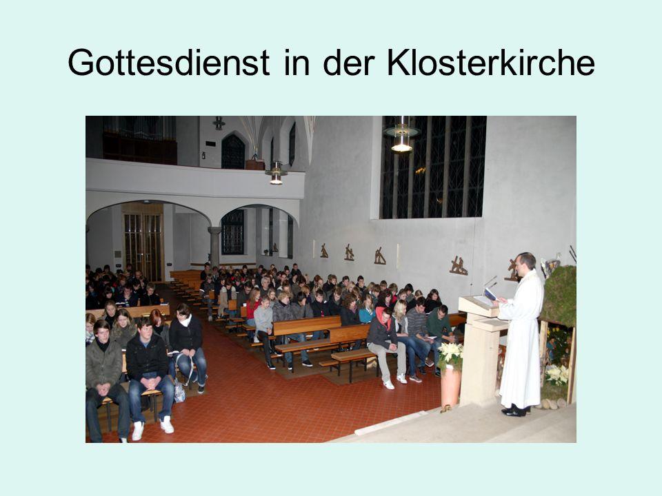 Gottesdienst in der Klosterkirche