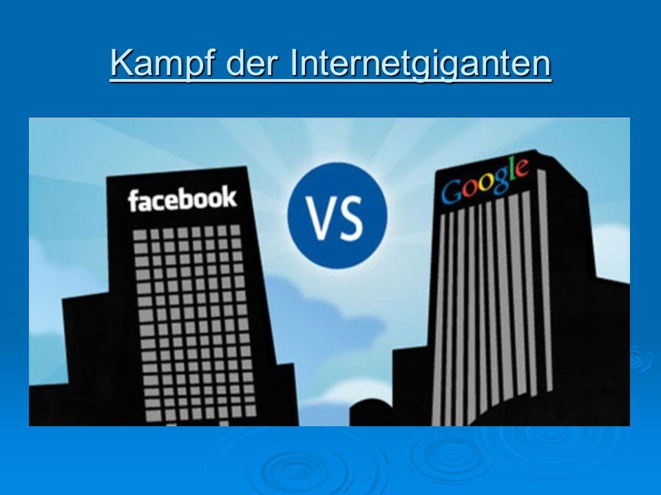 Kampf der Internetgiganten