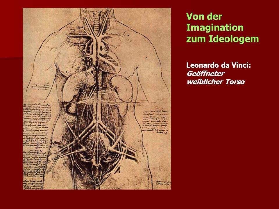 Leonardo da Vinci: Geöffneter weiblicher Torso Von der Imagination zum Ideologem