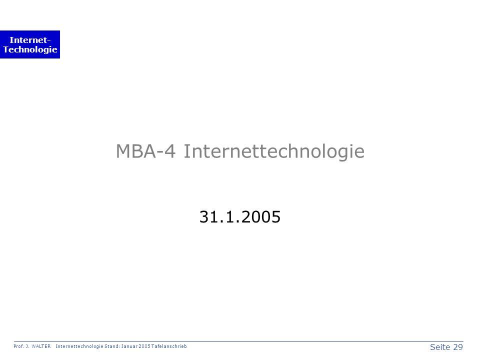 Seite 29 Prof. J.