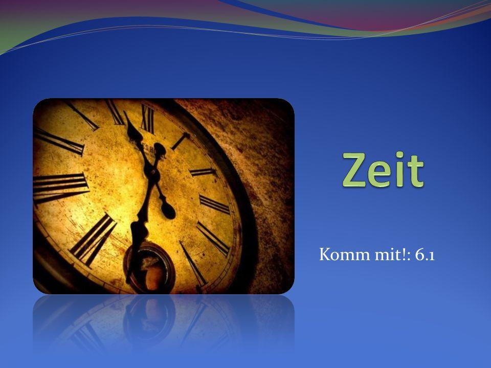 Wie spät ist es? Wie viel Uhr ist es? Wie spät ist es? Wie viel Uhr ist es?