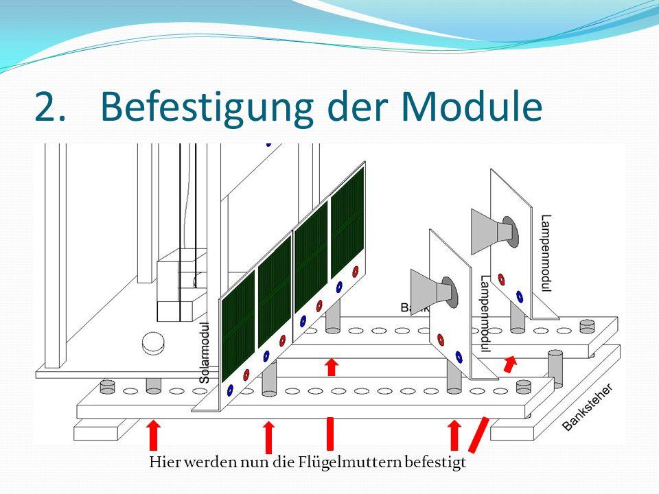 3.Verkabelung des Multimeters Benötigt: 1xLange rote Strippe 1xLange blaue Strippe 1xMultimeter