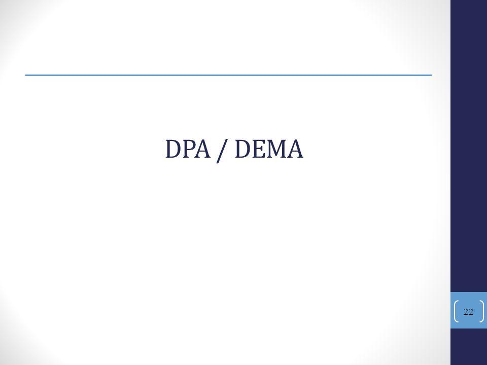 22 DPA / DEMA