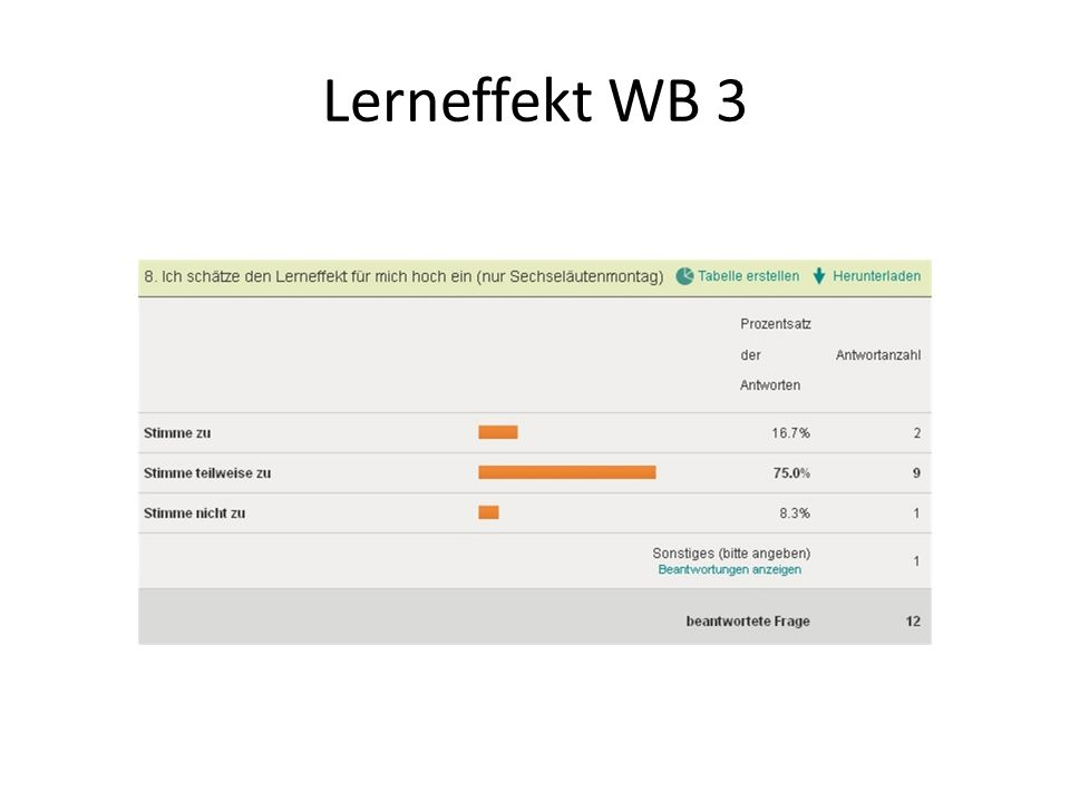 Lerneffekt WB 1-3