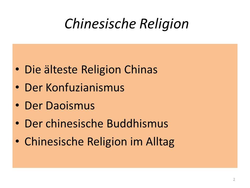 Chinesische Religion: Die älteste Religion Chinas 1200-1045 v.