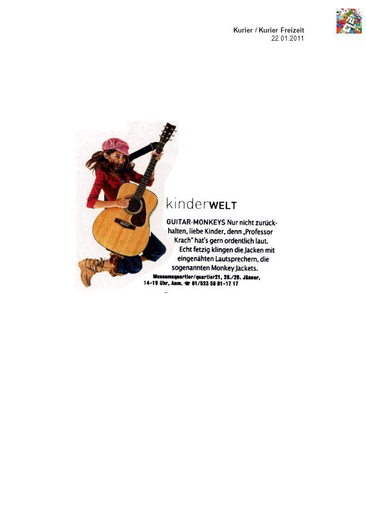Kurier / Kurier Freizeit 22.01.2011