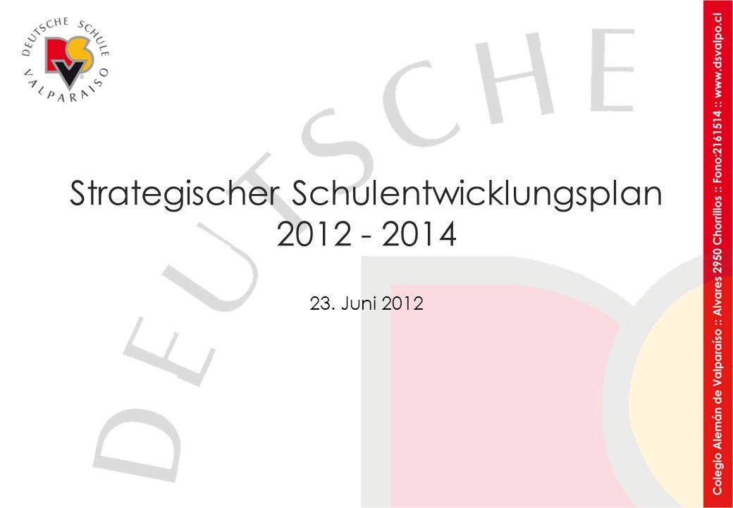 Strategischer Schulentwicklungsplan 2012 - 2014 23. Juni 2012