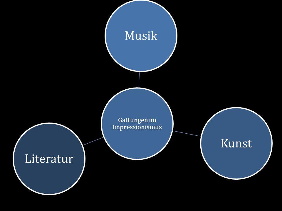 Gattungen im Impressionismus MusikKunstLiteratur