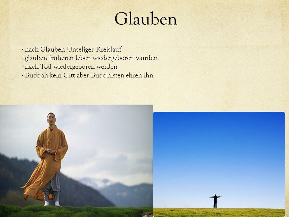 Glauben - nach Glauben Unseliger Kreislauf - glauben früheren leben wiedergeboren wurden - nach Tod wiedergeboren werden - Buddah kein Gitt aber Buddh