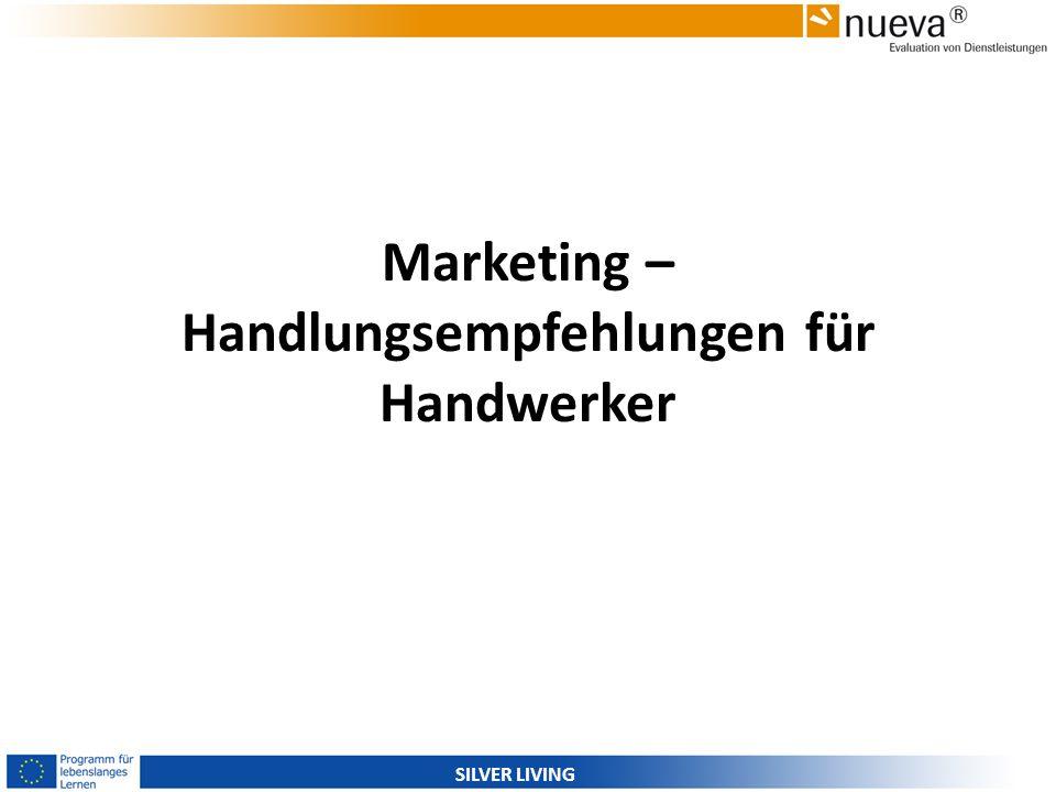 SILVER LIVING Marketing – Handlungsempfehlungen für Handwerker
