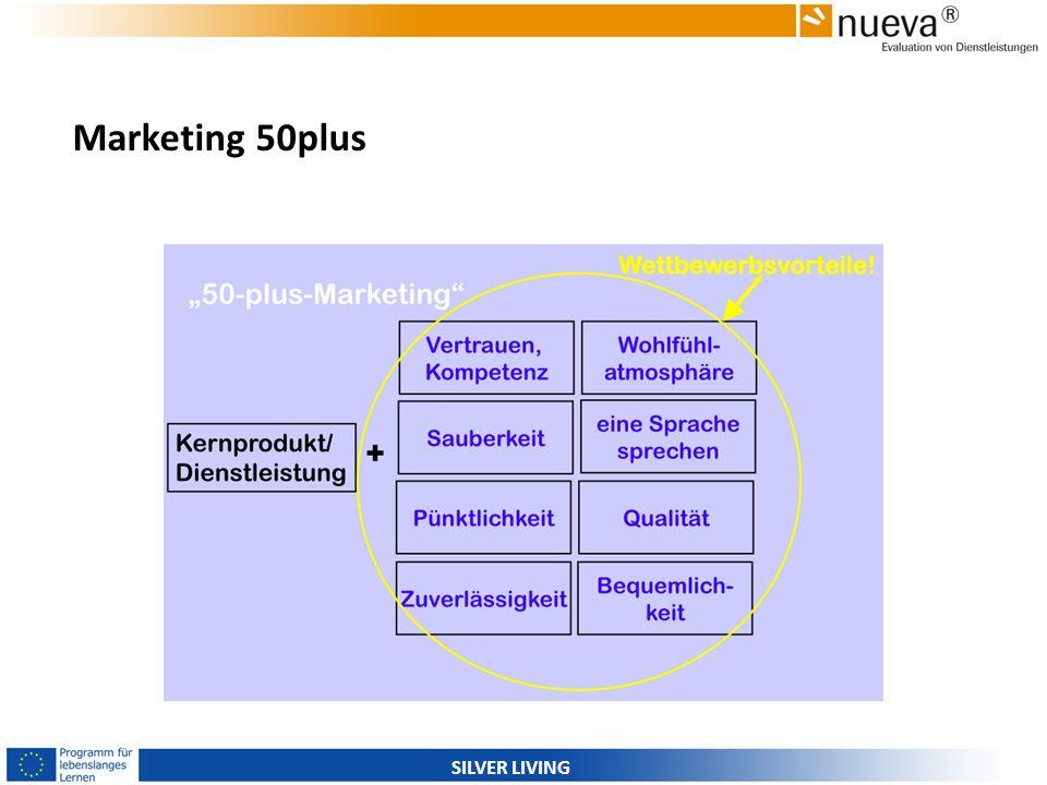 SILVER LIVING Marketing 50plus