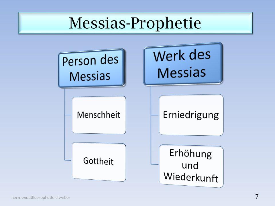 Messias-Prophetie hermeneutik.prophetie.sfweber 7