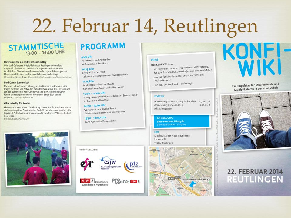 22. Februar 14, Reutlingen