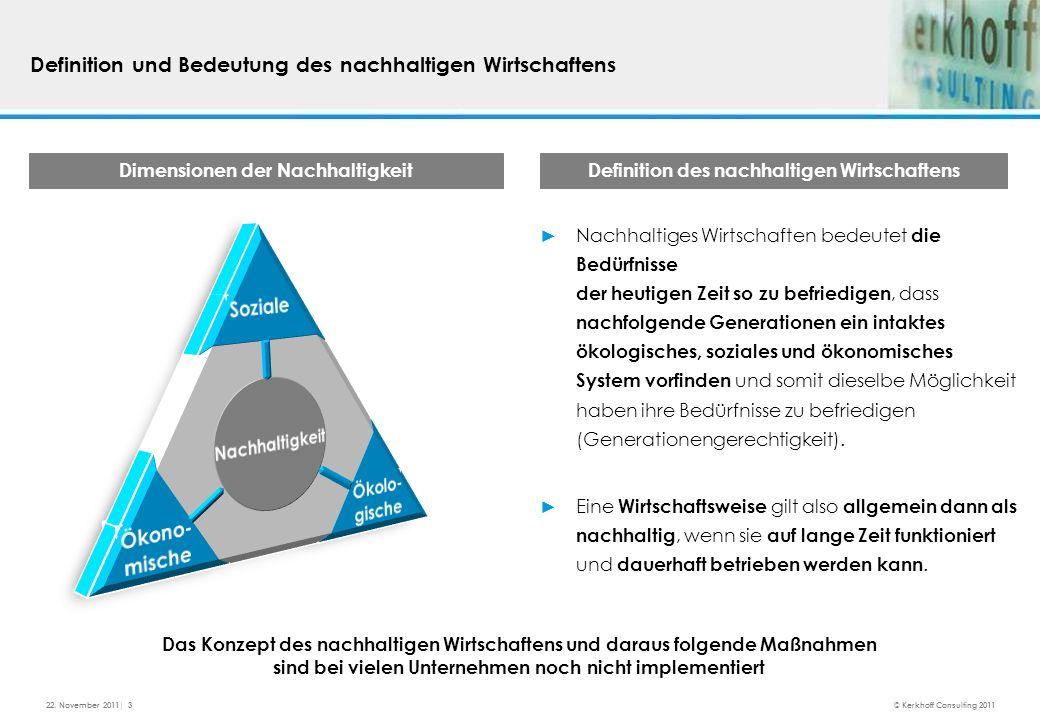 Allensbach Studie I Vorstellung Ermittlung der Bedeutung einer nachhaltigen Beschaffung für große Unternehmen in Vergangenheit und Zukunft - Welche Trends werden als besonders wichtig eingestuft.