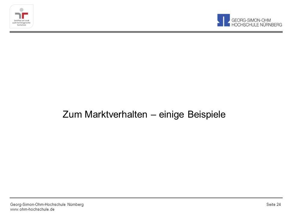 Aktienmarkt (DAX) Georg-Simon-Ohm-Hochschule Nürnberg www.ohm-hochschule.de Seite 25