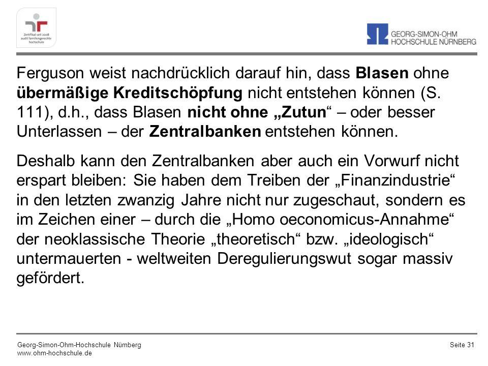 Georg-Simon-Ohm-Hochschule Nürnberg www.ohm-hochschule.de Seite 32