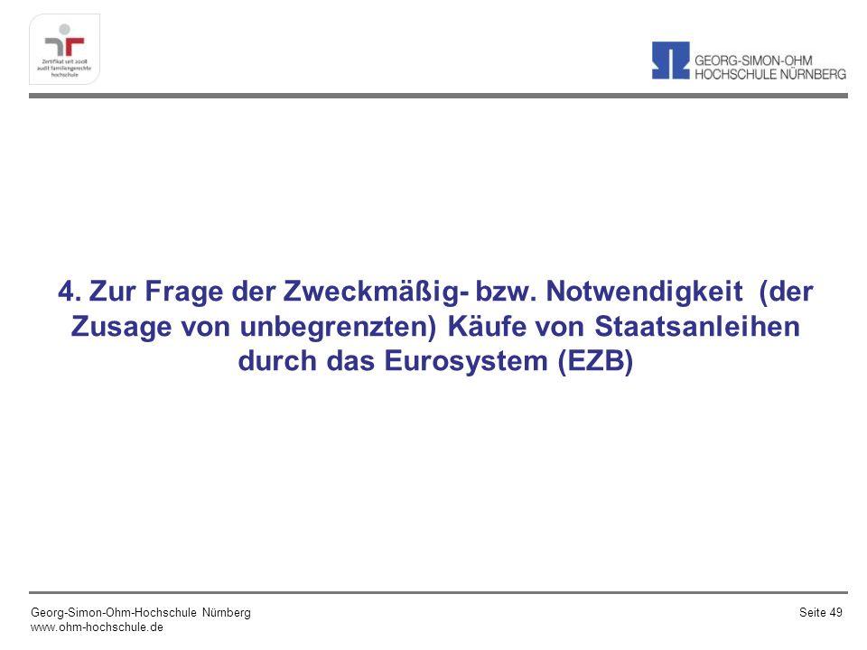 Bei der mündlichen Verhandlung des Bundesverfassungsgerichts am 10.6.2013 zur Frage der Rechtmäßigkeit des Staatsanleihen-Ankaufsprogramms der EZB, argumentierte die Seite der Kläger damit, dass die EZB ihr rechtliches Mandat überschritten hätte.