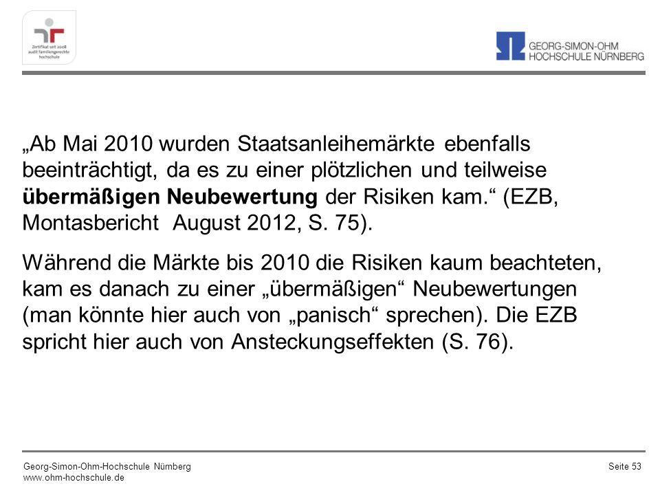 Was sagt die EZB zur Rechtfertigung der Ankündigung ….