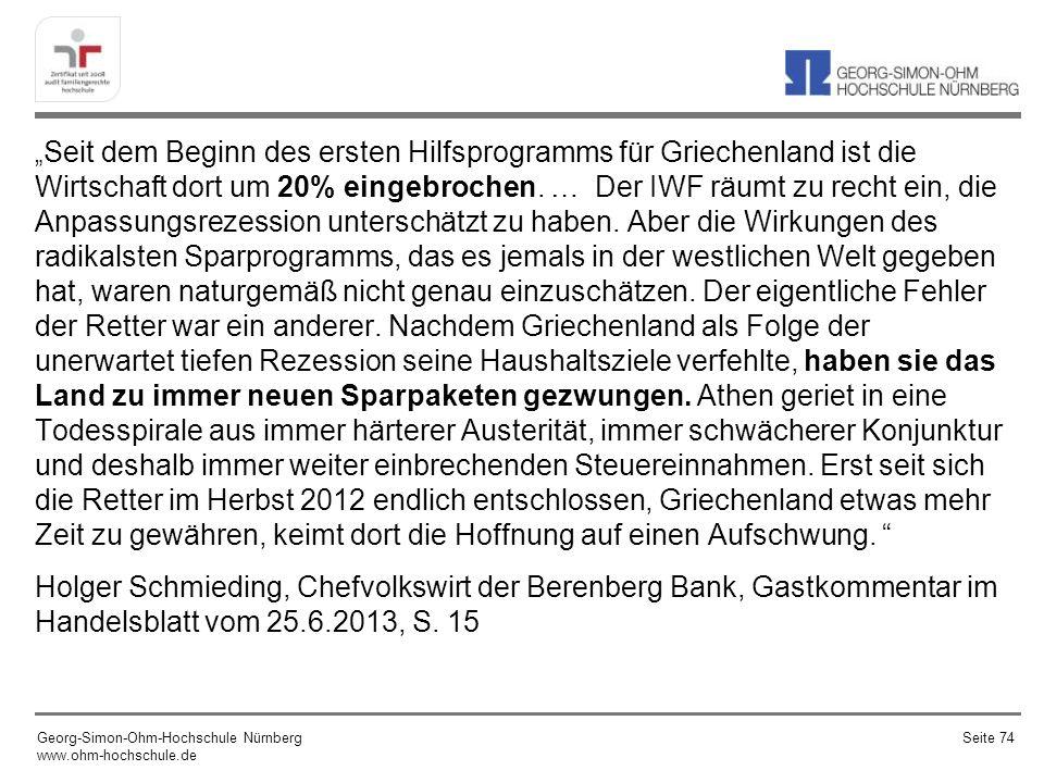 Georg-Simon-Ohm-Hochschule Nürnberg www.ohm-hochschule.de Seite 75