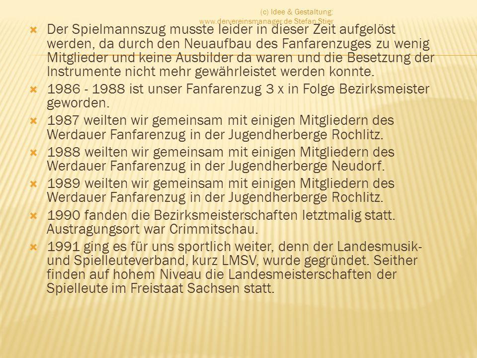 50 Jahre Fanfarenzug Crimmitschau e.V.Musikfest 2010 Datum:Freitag, 10.09.2010 bis Sonntag, 12.