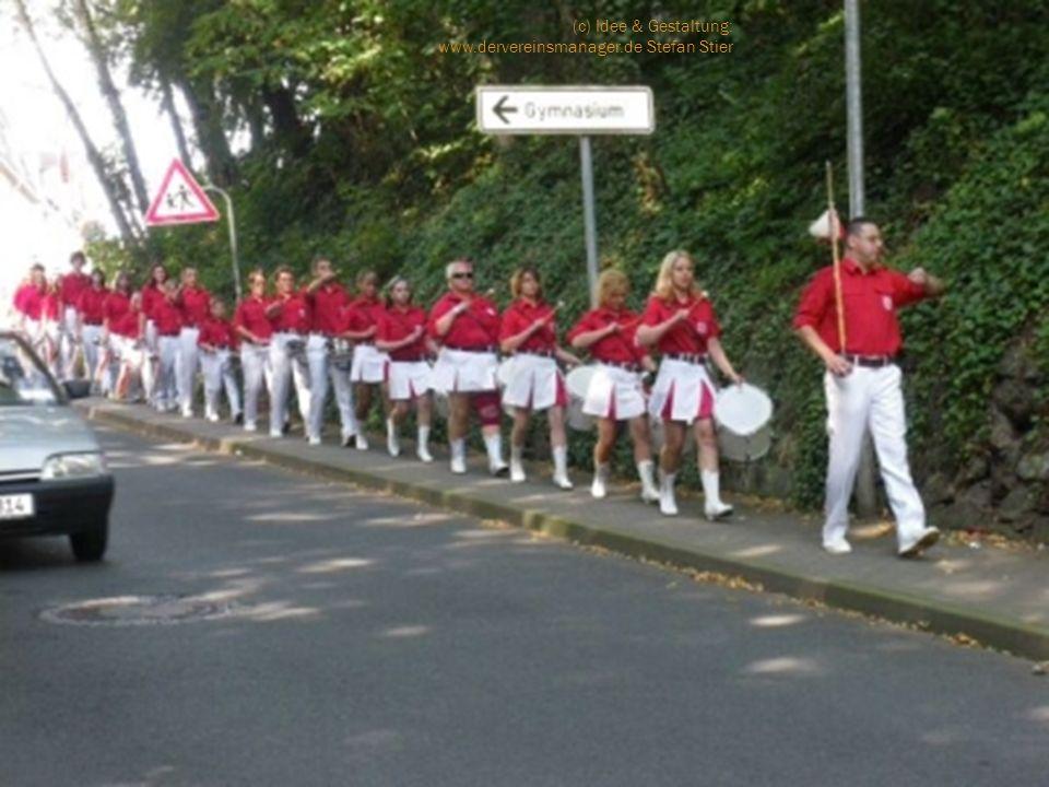 Samstag, 11.09.2010: 10.00 Uhr – Anreise der restlichen teilnehmenden Züge am Haus der Vereine 12.00 UhrBeziehen der Quartiere ab 12.00 UhrSpiel der einzelnen Musikzüge an div.