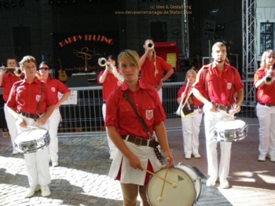 Drumband Büdingen Fanfarenzug Eilenburg Schalmeienfreunde Stadt Falkenstein e.