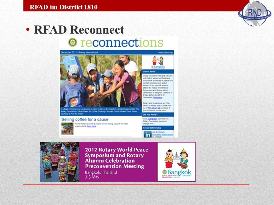 RFAD Reconnect RFAD im Distrikt 1810