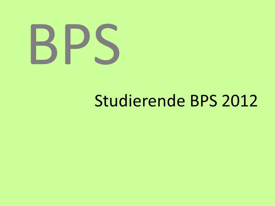 BPS Studierende BPS 2012