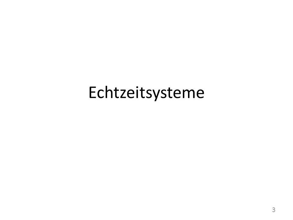 Echtzeitsysteme 3