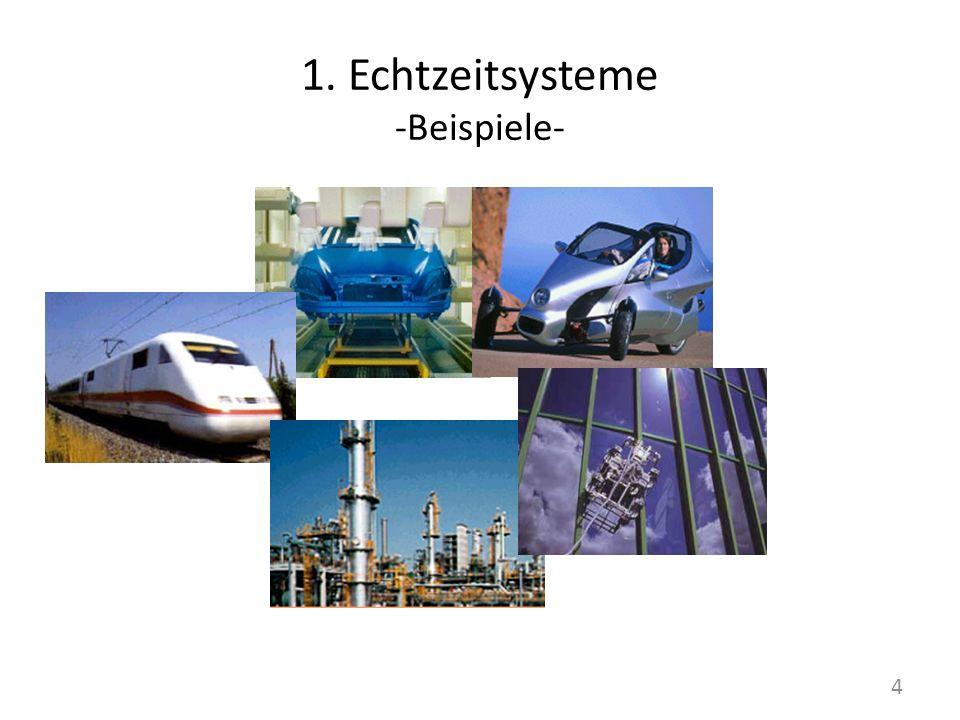 1. Echtzeitsysteme -Beispiele- 4