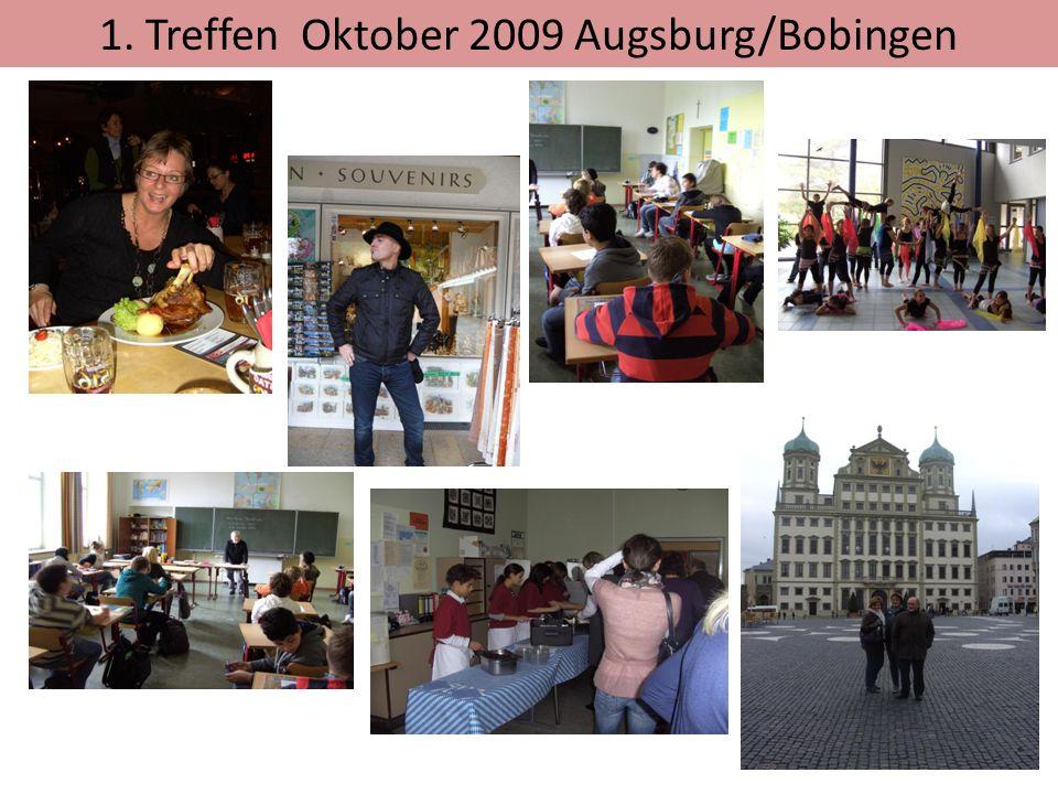 1. Treffen Oktober 2009 Augsburg/Bobingen
