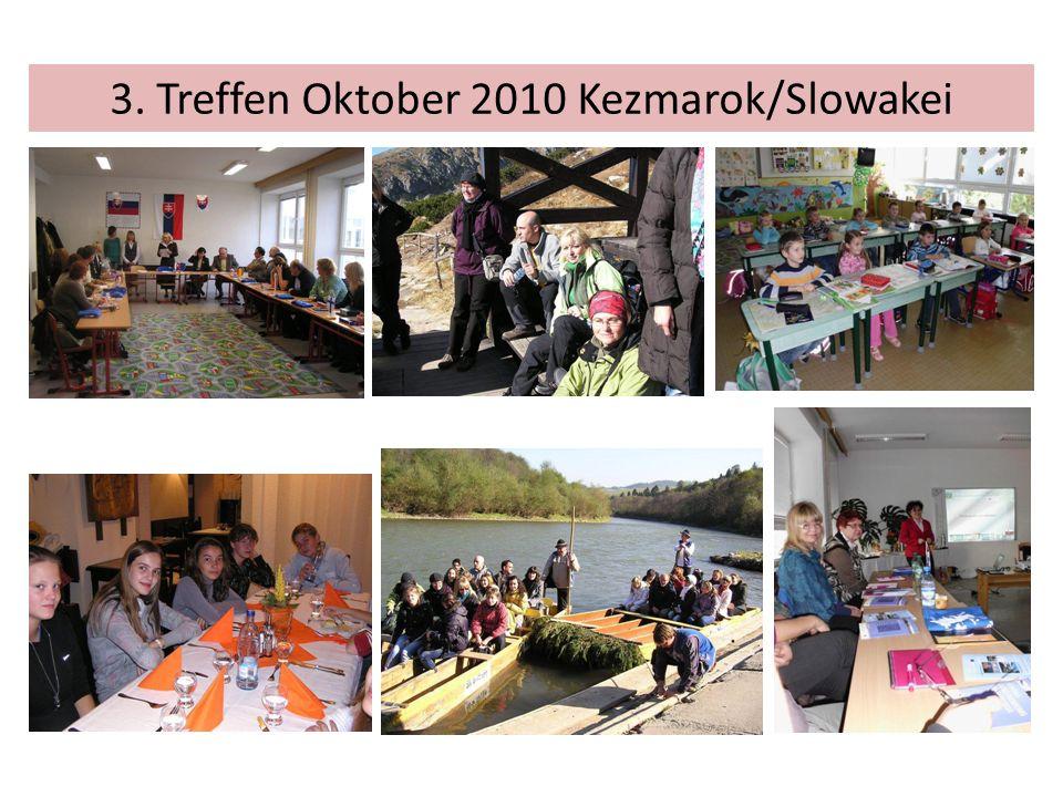 3. Treffen Oktober 2010 Kezmarok/Slowakei
