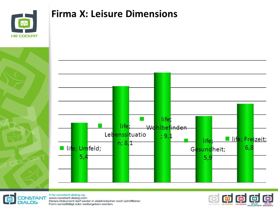 Firma X: Leisure Dimensions