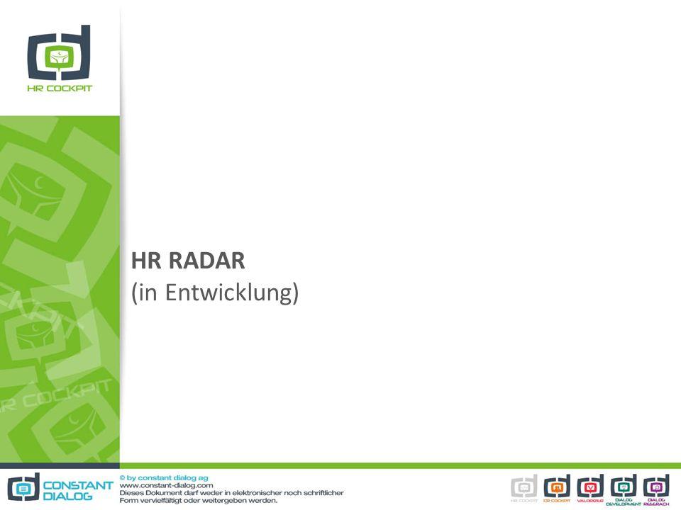 HR RADAR (in Entwicklung)
