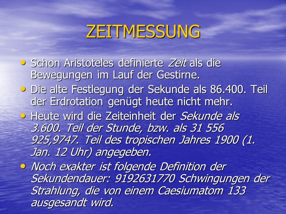 Der Zeitaspekt bei Heidegger: Zeit bei H.