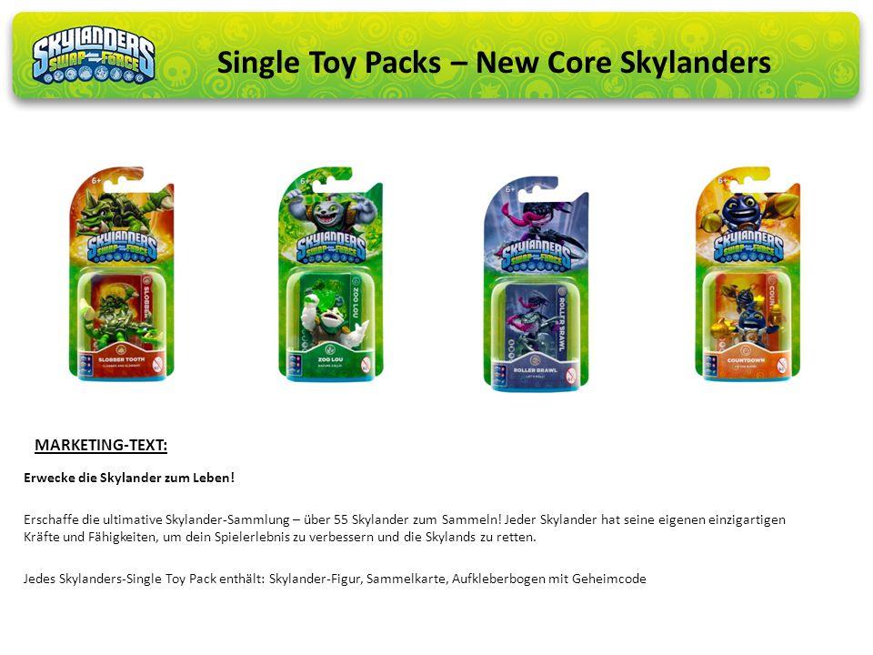 Erwecke die Skylander zum Leben! Erschaffe die ultimative Skylander-Sammlung – über 55 Skylander zum Sammeln! Jeder Skylander hat seine eigenen einzig