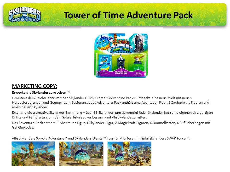 Erwecke die Skylander zum Leben! Erweitere dein Spielerlebnis mit den Skylanders SWAP Force Adventure Packs. Entdecke eine neue Welt mit neuen Herausf