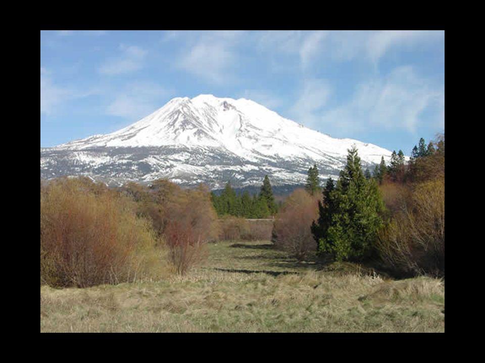 Nimm Dir Zeit… Liebe Eveline hier ein kleines Müsterli vom Mount Shasta