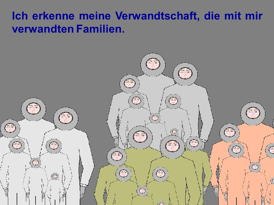 0000_44 Ich erkenne meine Verwandtschaft, die mit mir verwandten Familien.