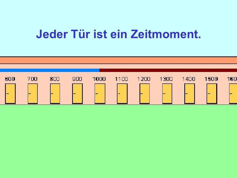 1100_04 Jeder Tür ist ein Zeitmoment.