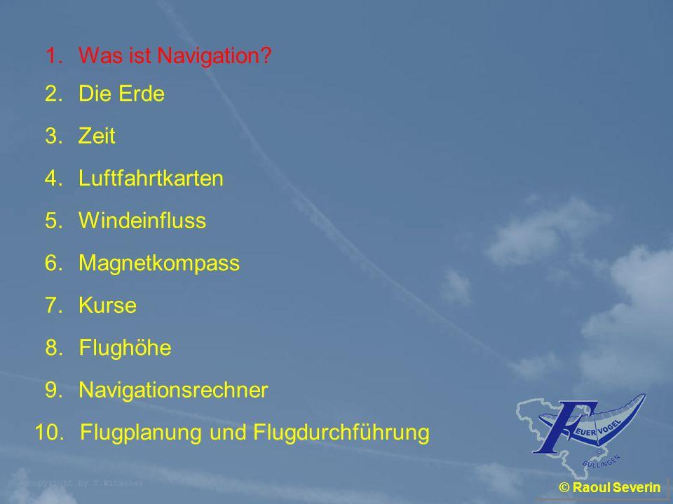 1.Was ist Navigation? 280° Wind aus 330° Büllingen Liernu