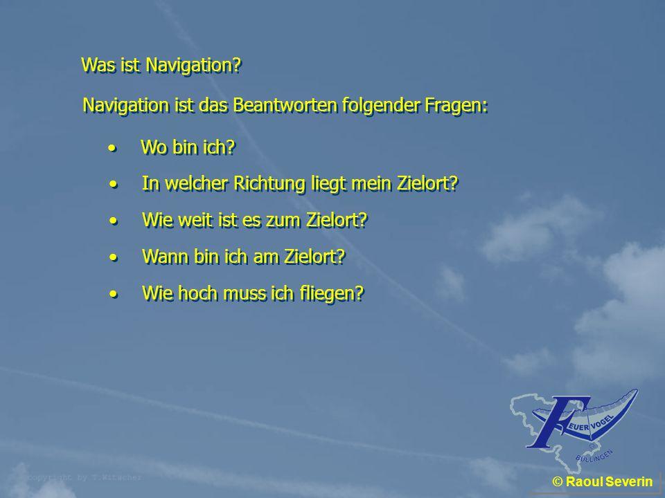 © Raoul Severin Absetzen von Kursen und Entfernungen : Kursentnahme